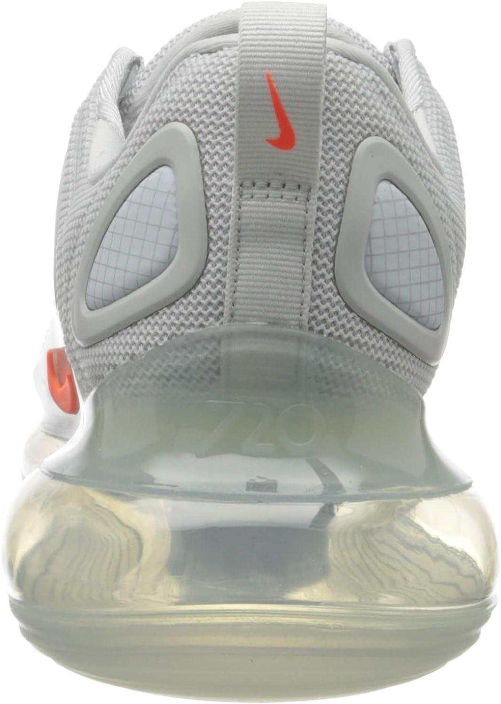 Nike Herren Air Max 720 Laufschuh, Bianco Arancione Pure Platinum Hyper Crimson TglMa