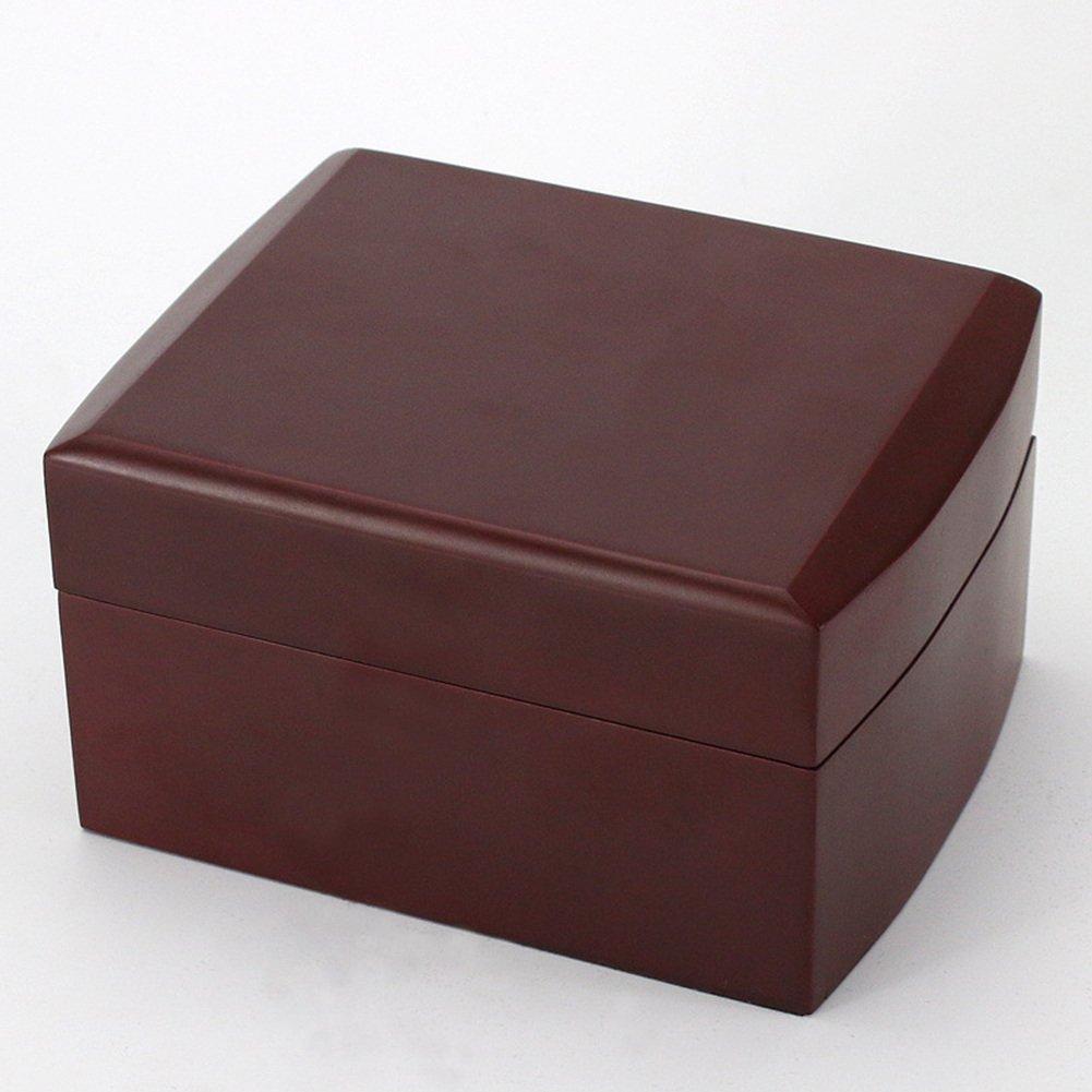 AVESON Luxury Watch Box Holder Organizer, Premium Wooden Jewelry Bracelet Storage Gift Case Single Grid by AVESON (Image #2)