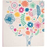 """Mead 3 Ring Binder, 1"""", Botanical Boutique, Trees Design (73841)"""