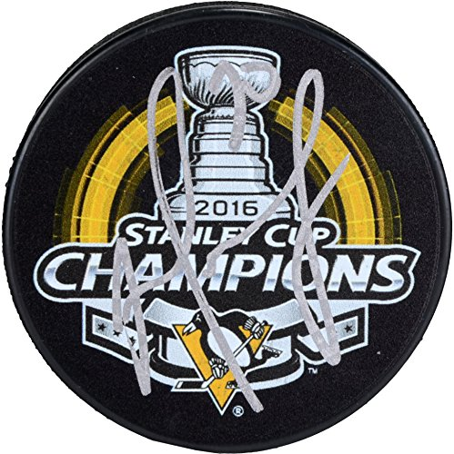 Matt Murray Pittsburgh Penguins 2016 Stanley Cup Champions Autographed 2016 Stanley Cup Champions Logo Hockey Puck - Fanatics Authentic Certified ()