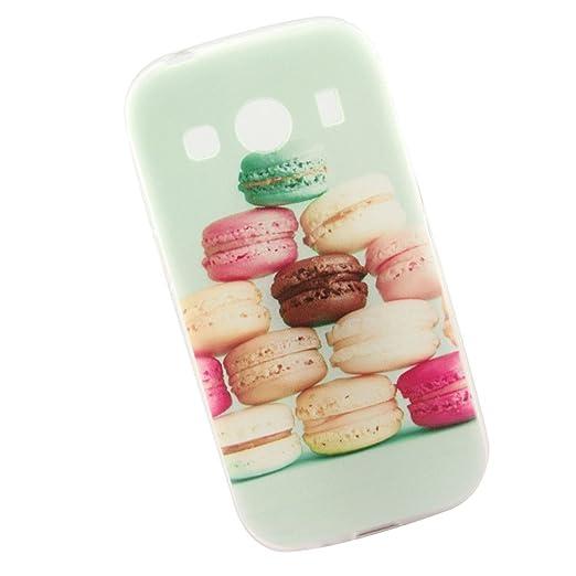 2 opinioni per Cuitan Durevole TPU Morbido Case Custodia per Samsung Galaxy ACE 4 SM-G357