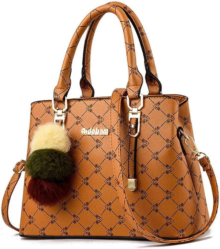 ZHUILIX Bolsos otoño e invierno para mujer nuevo bolso simple de cuero suave bolso de hombro de moda para todo fósforo bolso de mensajero