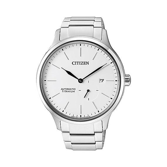 CITIZEN AUTOMATIC NJ0090-81A. Reloj de titanio y cristal de zafiro, para hombre.: Amazon.es: Relojes
