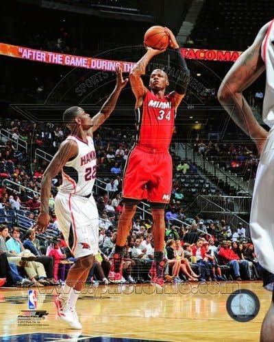NBA Ray Allen Miami Heat 2012-13 Action Photo #1 8x10
