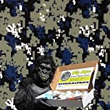 Dip Ape Navy Digital Camouflage Camo Hydrographics Water Transfer Hydro Dip Dipping Kit