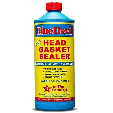 Amazoncom Bluedevil Head Gasket Sealer 32 Ounce38386 Automotive
