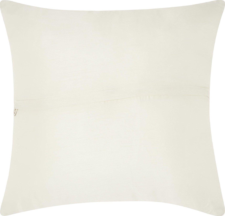 Mina Victory 訳あり商品 by Nourison Z2963 Silver Pillow x オリジナル B01N1FLA4B 並行輸入品 Decorative 20'