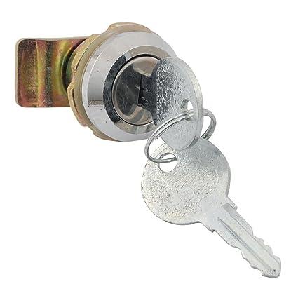 Para armario para escritorio 19,5 x 8 mm cerradura Tubular de llaves