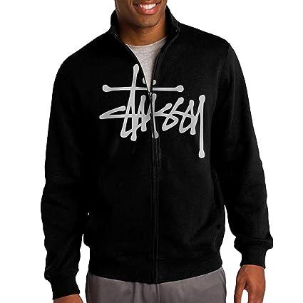 6f15ddf2cce Amazon.com   Jacob Men s Sweatshirt Stussy Full-Zip Hoodie Jacket ...