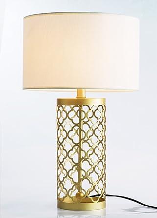 Lámpara de mesa Hierro material Dormitorio Modern Noche ...
