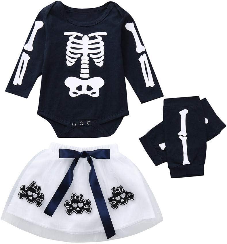 Chien 3-6 Mois Bebe Filles 3pcs Ensembles de vetements Robe a Manches Courtes /& Shorts /& Body Outfits Sets