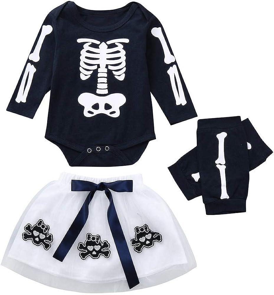 Vestido Niña Conjunto de Trajes de Halloween de Mallas con Falda ...