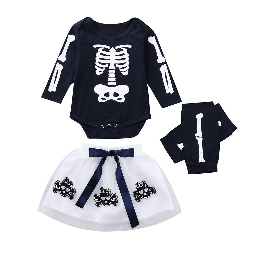 Amazon.com: Printed Outfits Set,LowprofileToddler Baby Girls ...