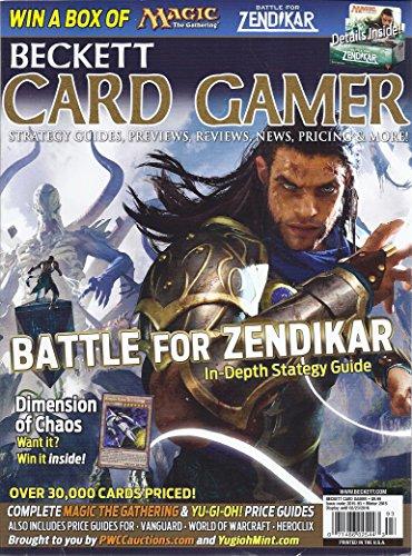 (Beckett Card Gamer Magazine (Winter 2015 - Battle For Zendikar))