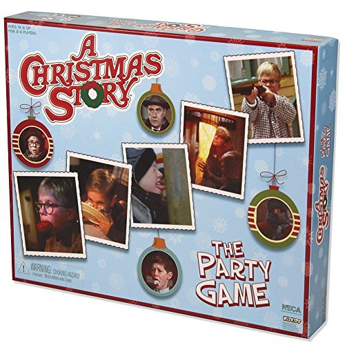 A Christmas Story Party Game - Classic Holiday Movie Board - 2-4 Players 14+ (For Social Games Christmas Party)