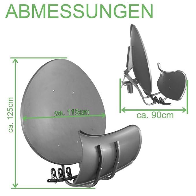 Satellite Dish Toroidal T90 P – dark: Amazon co uk: Electronics