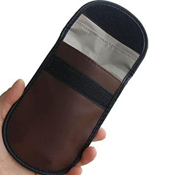 Funda para llave de coche con cerradura con función de bloqueo de señal, bolsa de seguridad para teléfono móvil Wifi/GSM/LTE/NFC en color negro: Amazon.es: ...