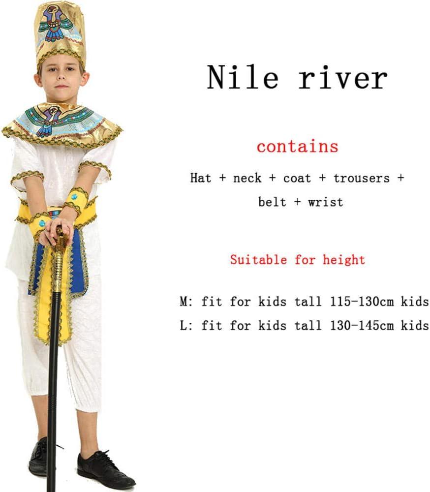 Disfraces de Halloween Niño Niña Antiguo Egipto Faraón Egipcio ...