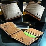 New Men's Stylish Leather Wallet Pocket Card Clutch Bifold Purse