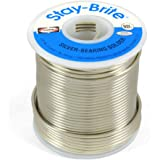 "Harris Stay-Brite Silver Bearing Solder 1/16"" x 1 lb"
