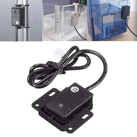 Lembeauty Contenedor de Sensor de Nivel de Agua líquido sin Contacto de 12 a 24 V
