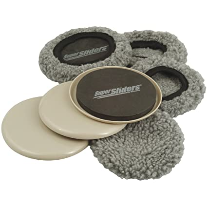 Supersliders 4703995n Multi Surface 2 In 1 Reusable Furniture Carpet
