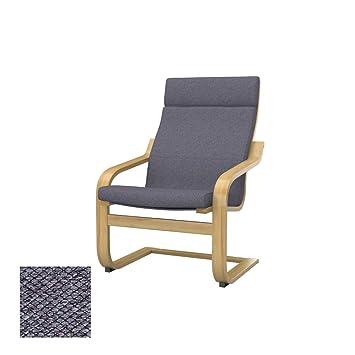 Amazon.com: Soferia Replacement Cover for IKEA POÄNG Chair ...
