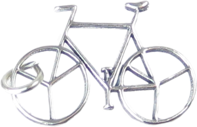 Bicicleta de plata de ley 925 para pulsera. 1 x para bicicleta ...