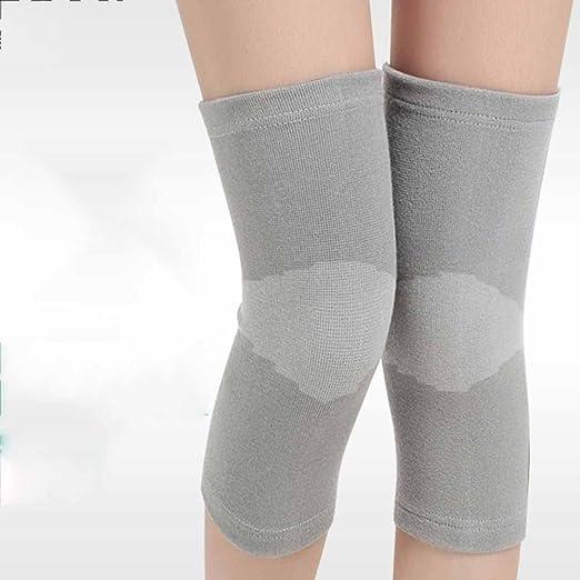 Knie Kompressionsmanschette Knieschutzer Bambus Warme Knieschutzer
