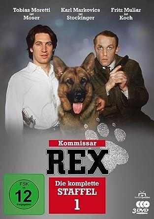 Kommissar Rex Die Komplette 1 Staffel 3 Dvds
