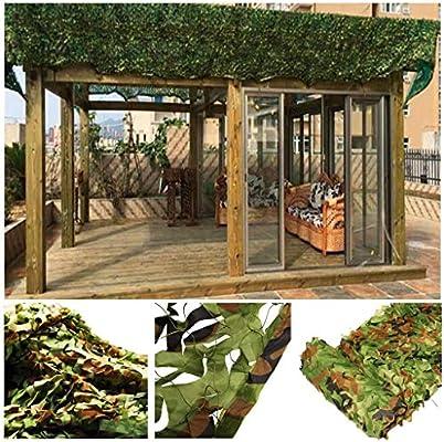Red de Protección Solar para Jardin, Red Camuflaje Verde del ...
