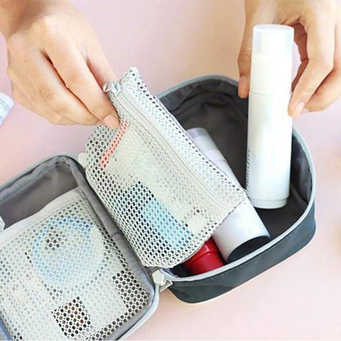 JullyeleITgant Mini Outdoor Kit Pronto Soccorso Borsa da Viaggio Medicina Portatile Pacchetto Kit di Emergenza Sacchetto di immagazzinaggio della Pillola Piccolo Organizer