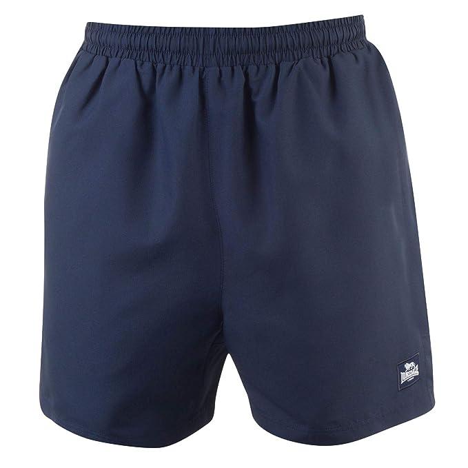 Lonsdale - Pantalones Cortos para Hombre (2 Rayas): Amazon.es ...