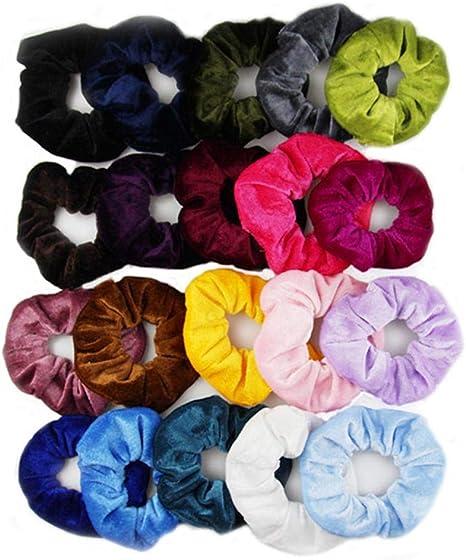 Amazon.com: Worlder Women 10PCS Fashion Solid Round Elastic Hair Band Hair Accessories Screw Nails: Home Improvement