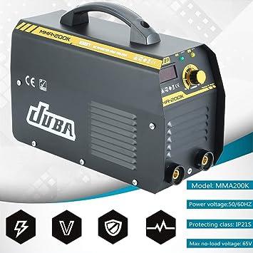 Hehilark 200A Inverter E-mano soldador MMA electrodo IGBT electrodos anti-adherencia Welder Soldadura inverter DC inversor inversor inversor de soldadura ...