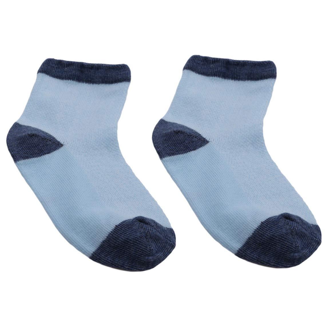 Blue Dog L CH Baby Summer Warm Cotton Mesh Thin Socks Cute Cartoon Sweet Animal ShapedSoft Breathable Socks Good For Gift 5pcs