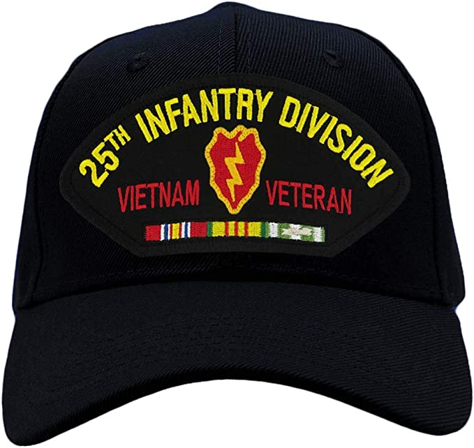 U.S ARMY hat cap 25th Infantry Division Military Official Licensed Baseball cap