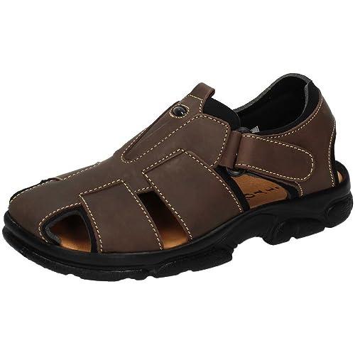 Dliro es 7003 Complementos Y Hombre Sandalia Todo Zapatos Sandalias Piel Amazon wUwOFprq
