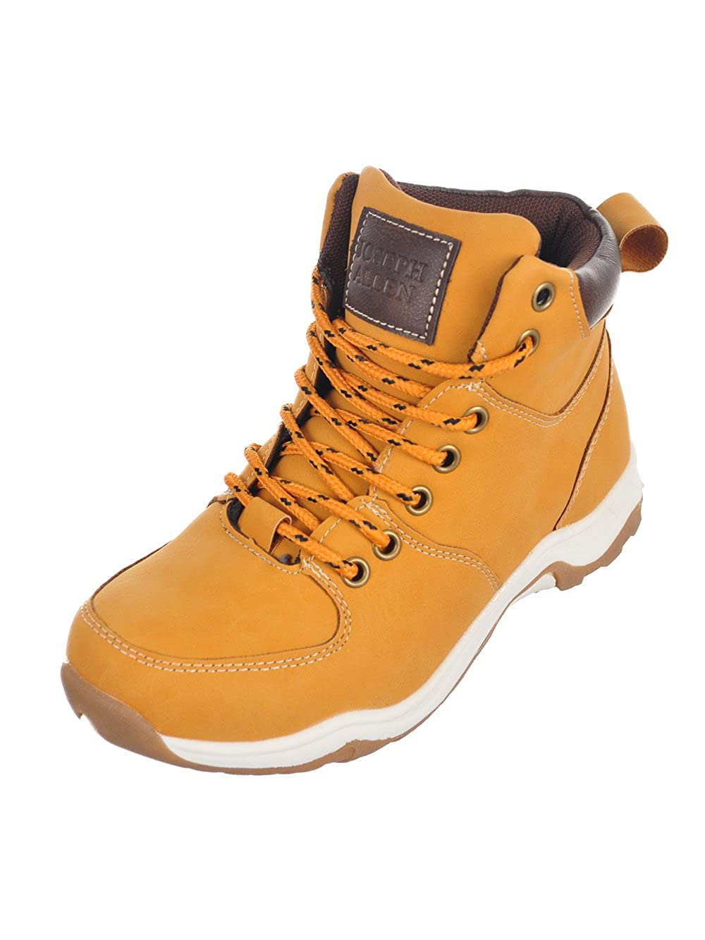 tan Joseph Allen Boys Boots 3 Youth