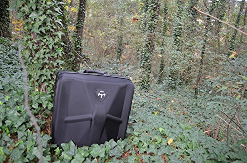 Bestem Aerial DJI Inspire 1 Black Waterproof 1680D EVA Shell Unique Hardshell InsPak Backpack Carrying Case with Gimbal Lock for DJI Inspire 1 (X3 only) by Bestem Aerial (Image #10)
