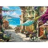 Ceaco Thomas Kinkade 1000 piece puzzle Italian Cafe