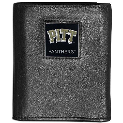 NCAA Pittsburgh Panthers Leather Tri-Fold Wallet