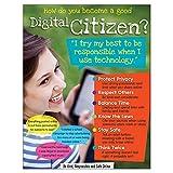 "Trend Enterprises Inc. Digital Citizenship (Secondary) Learning Chart, 17"" x 22"""