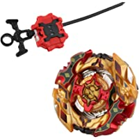 CHO-Z SPRIGGAN.OW.ZT B-128 Spinning Top with Ripcord Launcher Rapidity Fight Master Kids Character Toy