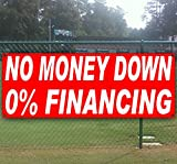 NO MONEY DOWN 0% 13 oz heavy duty vinyl banner sign with metal grommets, new, store, advertising, flag, (many sizes available)