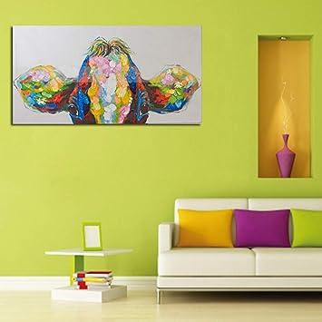 Gbwzz Olgemalde Auf Leinwand Wandbilder Fur Wohnzimmer Kunst