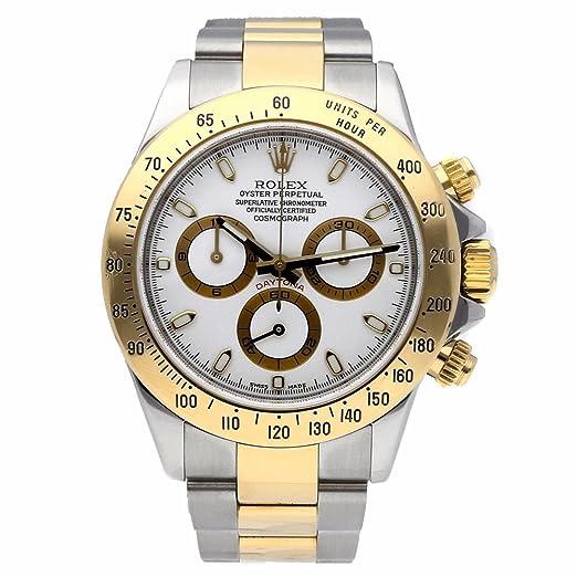 Rolex Daytona automatic-self-wind Mens Reloj 116523 (Certificado) de segunda mano: Rolex: Amazon.es: Relojes