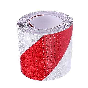 Sicherheit reflektierende Warnband Aufkleber Klebeband Tape für Auto LKW 300cm