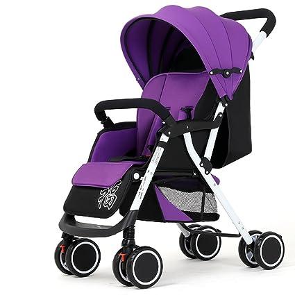 Puede montar puede acostarse el carro de bebé plegable ...