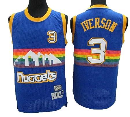 TTHU Camisetas De Baloncesto para Hombre - Nuggets 3 ...